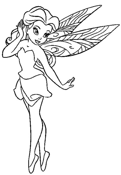 coloring page of fairy free coloring pages of fairies to print