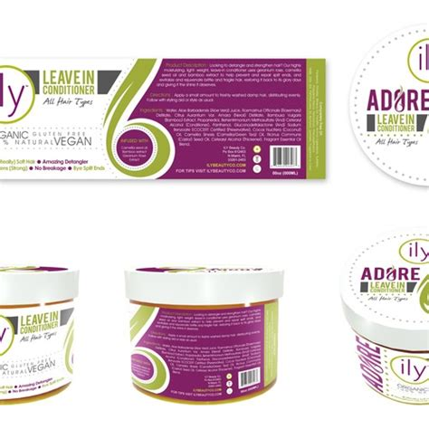 Template Label Needed For Premium Hair And Skin Care Company Product Label Contest Skin Care Label Templates