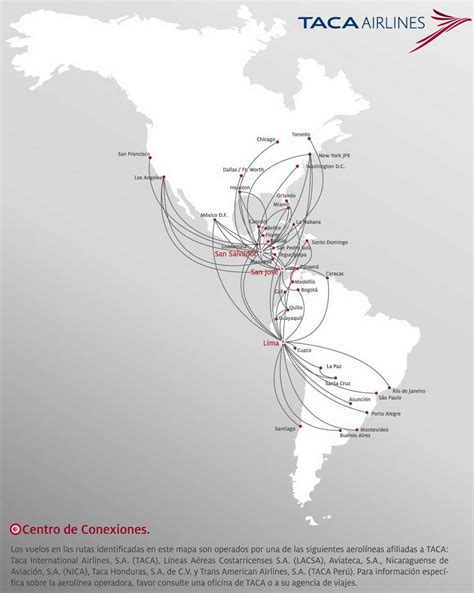 ta usa map taca airlines flights ticket reservations cheapoair