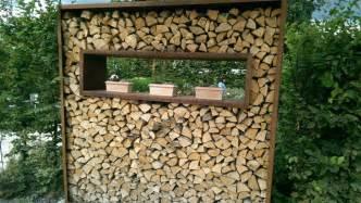 holzstapel regal brennholz am garagendachboden lagern baurechtforum auf