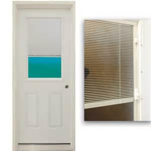 Exterior Door Blinds 36 Quot 1 2 Lite Exterior Steel Door Unit With Mini Blinds Between The Glass Bargain Outlet