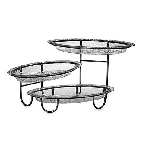 buy creativeware three tier buffet server from bed bath