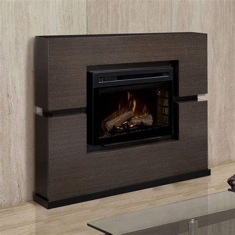 electric fireplace packages linwood electric fireplace mantel package in grey rift