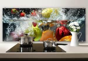 Adhesive Kitchen Backsplash spritzschutz erfrischendes obst panorama wall art de