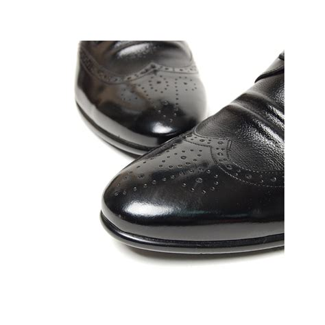 s wing tip leather wrinkle brogues lace up oxfords