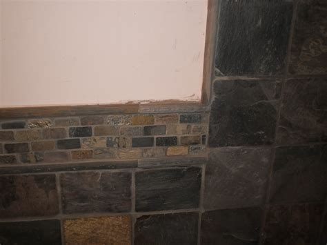 natural slate bathroom tiles installing natural slate tile here s how to do it