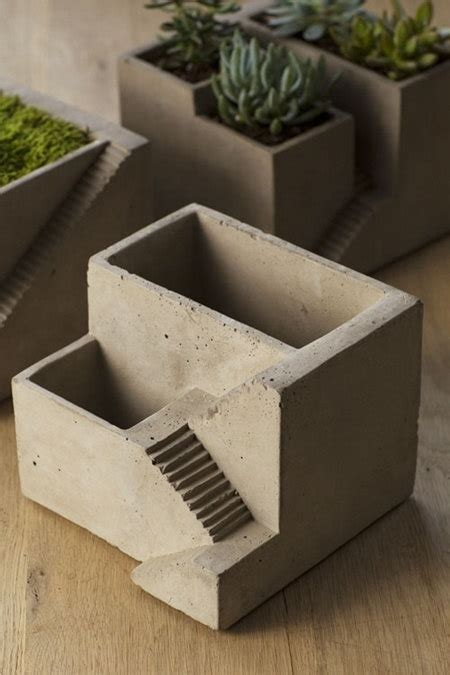 Architectural Planter concrete architectural planter zen garden cement house