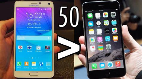 All Type Samsung Iphone 6 Plus samsung galaxy note 5 vs iphone 6 plus same screen size but different specs neurogadget