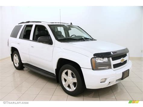 chevrolet trailblazer white 2009 summit white chevrolet trailblazer lt 4x4 98150217