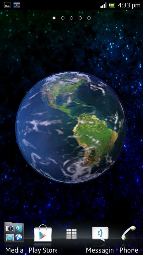 android live wallpaper the earth 3d android live wallpaper nitrio