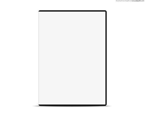 White Template blank white with dvd psd web template psdgraphics