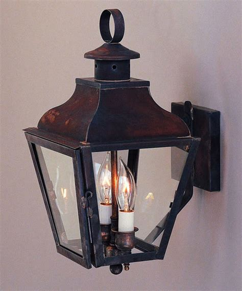 Handcrafted Period Federal Wall Lantern Traditional Period Outdoor Lighting
