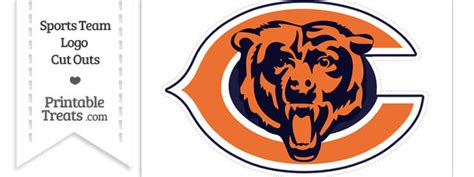 Chicago Bears Sweepstakes - large chicago bears logo cut out printable treats com