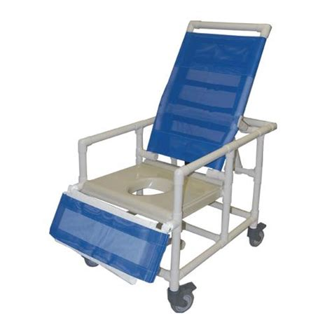 reclining shower chairs for handicapped healthline bariatric reclining shower commode chair