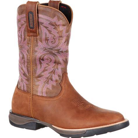 comfortable western boots rocky lt women s comfortable lightweight tan western boot