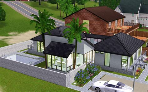 house designs sims 3 sims 3 cool house ideas