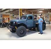 Jay Leno Drives A Six Wheeled Dodge Power Wagon Restomod