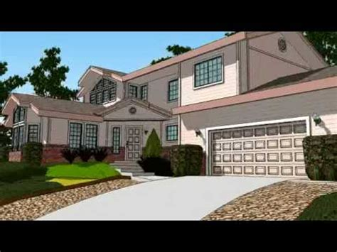 3d house animation youtube sketchup 3d house animation in widescreen youtube
