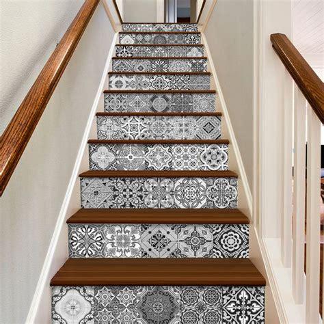 fliesenaufkleber vinyl stickers escalier portuguese tiles tile decals