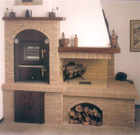 camini da incasso a legna forno da incasso cucina rustica camini