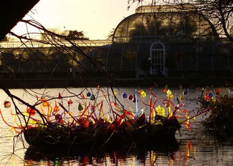 chihuly boat house chihuly glass in boat sun behind the 169 eric baker geograph britain and ireland