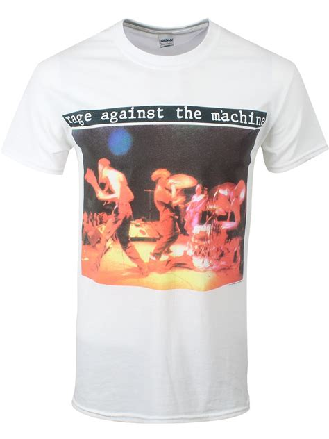Rage Against The Machine Belt rage against the machine anger gift s white t shirt