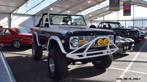 white bronco car mecum 2016 1977 ford bronco sport 5 0 roadster in white
