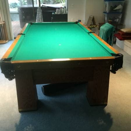 4 5 x 9 pool table used pool tables for sale seattle washington seattle