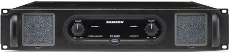 Samson Sx3200 Sx 3200 Sx 3200 Power Lifier Garansi Resmi samson sx3200 750 watt audio power lifier