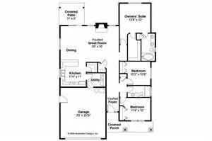 Craftsman Floor Plan by Craftsman House Plans Westwood 30 693 Associated Designs
