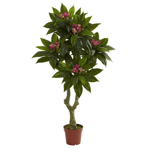 Outdoor Artificial Tree - 5 silk plumeria tree uv resistant indoor outdoor