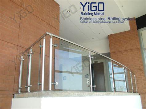 ringhiera vetro prezzo ringhiera di vetro frameless per scale scala prezzi