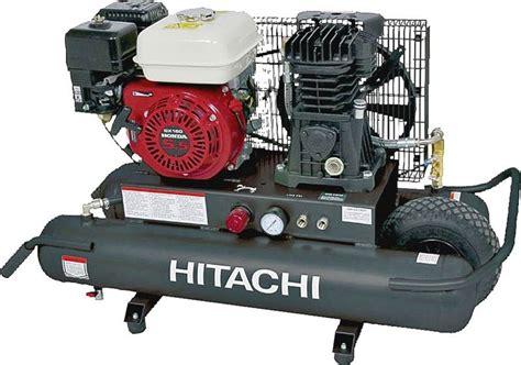 hitachi ece air compressor  hp   psi