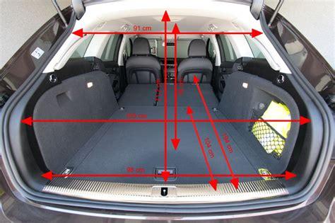 Abmessung Audi A4 Avant by Innenraum3 Kofferraum Abmessungen Bei A4 Avant Audi