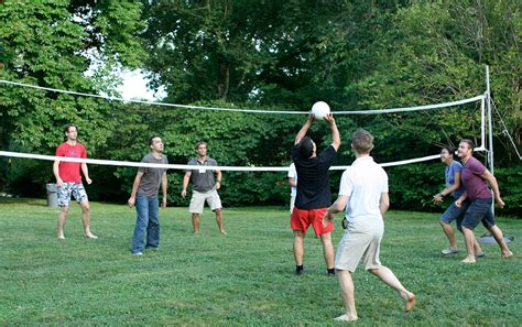 backyard volleyball essay on values of sports and games knowledgeidea