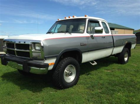 sell used 1993 dodge ram w250 in portland oregon united states for us 11 000 00 buy used 1993 dodge w250 pickup truck cummins 5 9 12 valve diesel extended cab 4x4 in baraboo