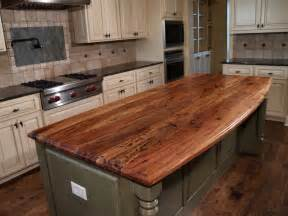 kitchen island counter spalted pecan custom wood countertops butcher block