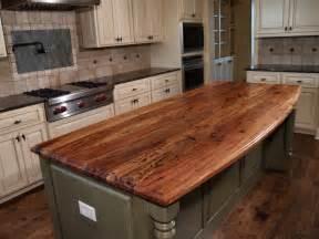 Butcher Block Kitchen Island Rustic » Home Design 2017