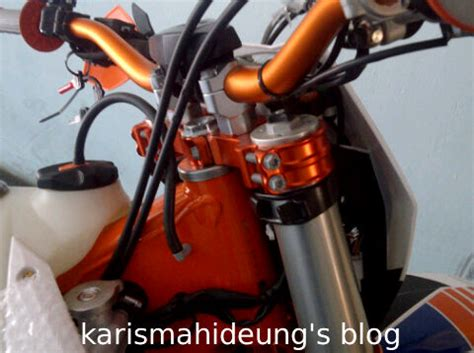 Master Kopling Hidrolis kenal lebih dekat dengan ktm 350 exc f six days