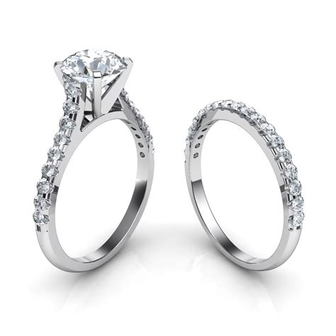 Wedding Rings And Bands by Wedding Rings Wedding Band And Engagement Ring Set Cheap