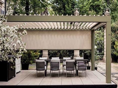 pergolato per terrazzo pergolati per terrazzi in alluminio legno e ferro