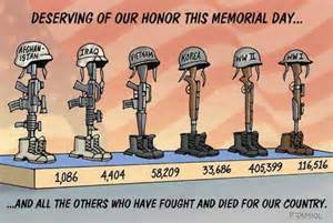 for those who gave the ultimate sacrifice memorial day