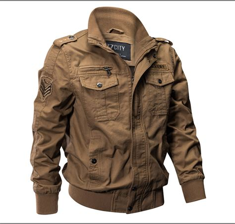 Jaket Bomber Wash Jaket Bomber B Jaket Bomber Jaket mens outdoor tactical washed cotton jackets bomber cargo coat ebay