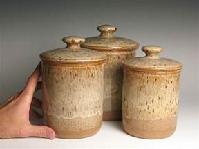 kitchen canister set archives brent smith pottery brent canister set pottery stoneware kitchen canisters