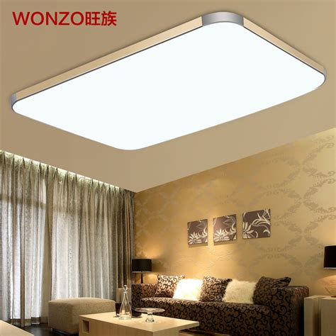 slim fixture square led light living room bedroom ceiling wang clan slim led ceiling l modern minimalist
