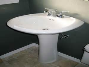 kitchen how to install a pedestal sink kohler archer