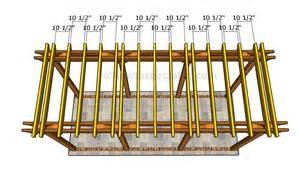 rafter spacing rafter template ebook database