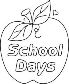 school coloring page school coloring pages coloringpages1001