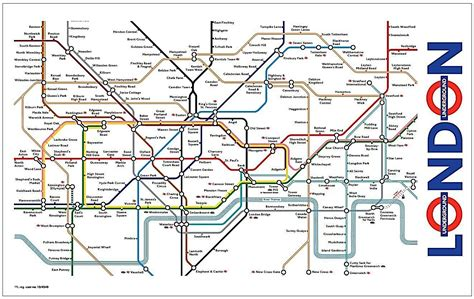 london tube map 2014 printable best london theme gifts 2018 unique british themed gifts