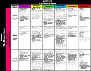 curriculum mapping curriculum map human